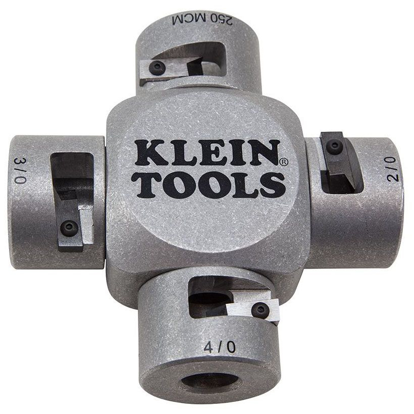 KLN 21051 KLEIN LARGE CABLE STRIPPER (2/0-250 MCM)