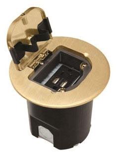 wmd LEGFBUSBB WMD USB WOOD FLOOR BOX KIT BRASS