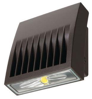 LUM XTOR2B LUM LED WALLPACK 5000K 2135 LUMEN 120-277V BRONZE