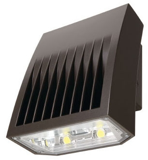 LUM XTOR8B-PC1 LUM LED WALLPACK 5000K 8502 LUMEN W/ 120V PHOTOEYE BRONZE