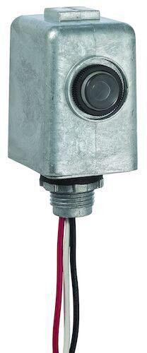 INT EK4436SM LED RATED DIE CAST METAL STEM MOUNT PHOTO CONTROL 105-305V MULTI-VOLT 1000W TUNGSTEN 1800W BALLAST LOAD 6amp 8yr WARRANTY