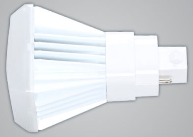 KT-LED112P-V-840-X 11W 120-277V 4000K 2-PIN (G24d) BASE DIMMABLE FROSTED VERTICAL ORIENTATION PLUG & PLAY OR LINE VOLTAGE COMPACT LED 1050 LUMENS 50,000 HOUR AVERAGE RATED LIFE