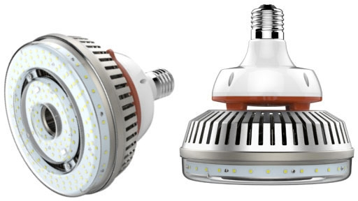 key KT-LED115HID-V-EX39-850-D KEY R64 LED FLOOD LAMP 115W 15700 LUMEN 5000K 50K HOUR LIFE MOGUL BASE NON-DIM 120-277V
