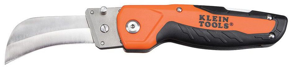 KLEIN 44218 Cable Skinning Utility Knife with Replaceable Blade
