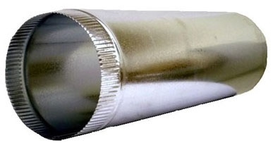 "10"" 26 Gauge 5' Pipe Single Wall (Sl601026)"