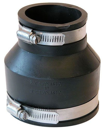 "3"" x 2"" All Pipe Rubber Coupling"