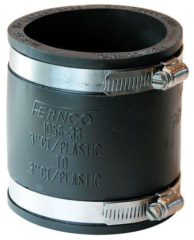 """3"""" All Pipe Rubber Coupling"""