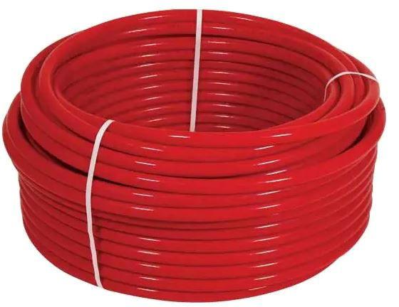 """1/2"""" x 100' AquaPEX Pipe - Red"""