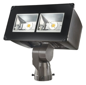 LUM NFFLD-C40-S LUM LED FLOOD 4000K 16932 LUMEN SLIPFITTER MOUNT 120-277V BRONZE