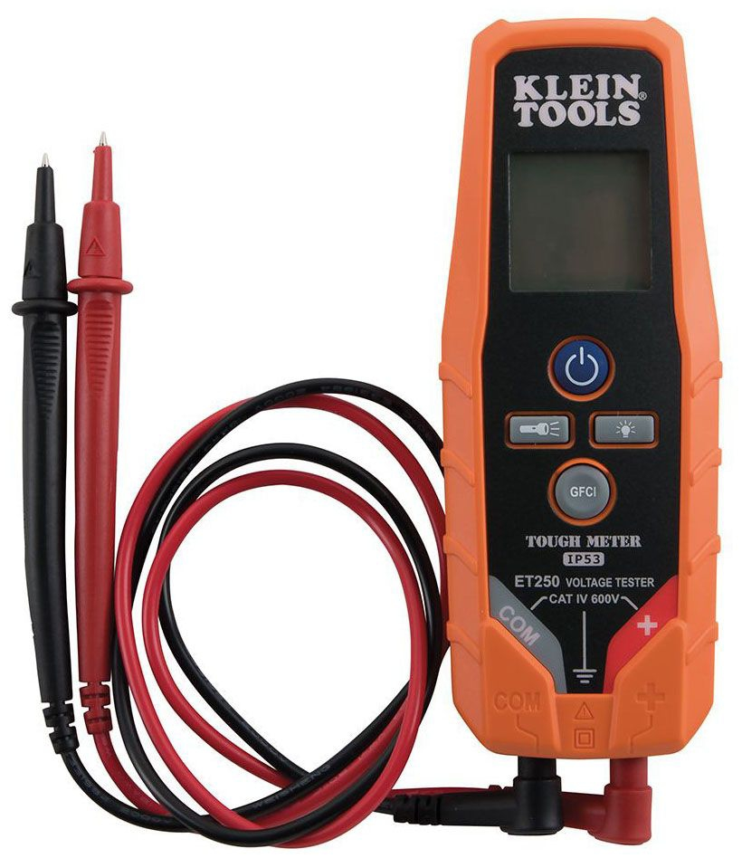 KLEIN ET250 Electronic AC/DC Voltage/Continuity Tester