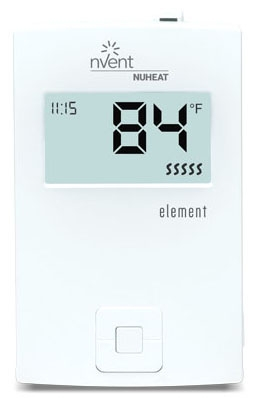 NUH ELEMENT NUH NON-PROGRAMMABLE THERMOSTAT DUAL VOLTAGE AC0057
