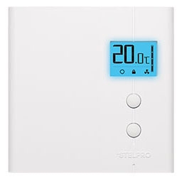 STE STE302NPW+ STELPRO ELECT. THERMOSTAT NON PROG. BACKLIGHTED 3000W/240V (WHITE)