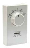 RYW ET9SRTS RYW SPST COOL ONLY THERMOSTAT W THERMOMETER TERMINALS 50-90F