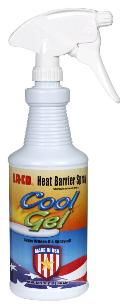 Heat Barrier Cool Gel Spray - 1 Pt (S95101)