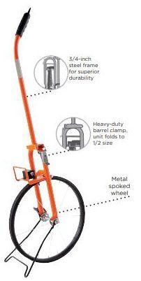 Measuring Wheel-Keson 15-1/2 in Dia Road - Measuring Tools