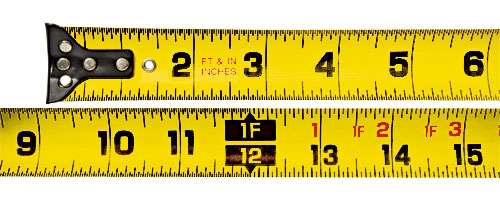 Measuring Tape-25ft Ft/In Wide Blade - Measuring Tools