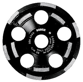 Cup Wheel - 5in Diamond - Grinding