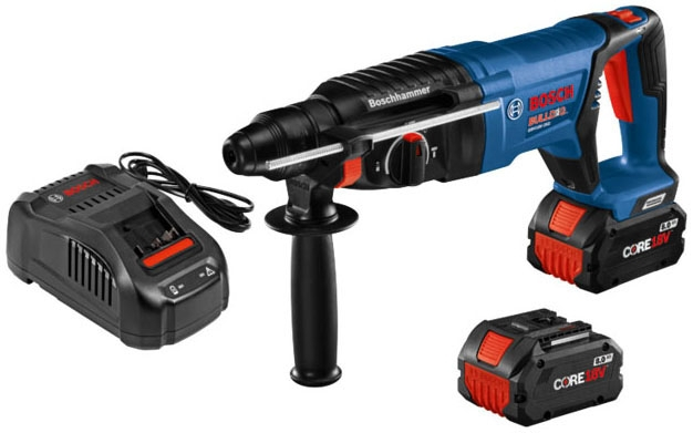 Rotary Hammer SDS-Plus w/2 Battery - Rotary & Demolition Hammer Drills