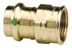 "1"" Copper Press x FIP Adapter"