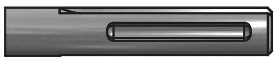 Flat Chisel-16in L SDS Max - Drill Bits