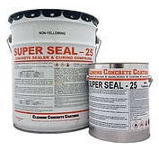 Solvent-Based Concrete Cure & Seal