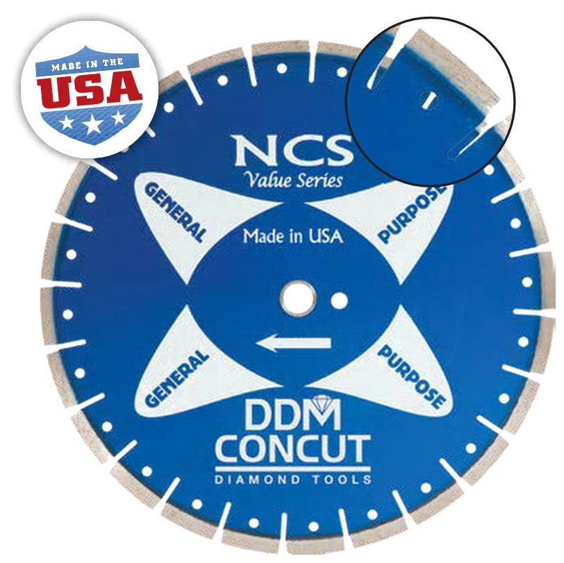 Diamond Blade- 14in x .110 Dry Cut GP - General Purpose