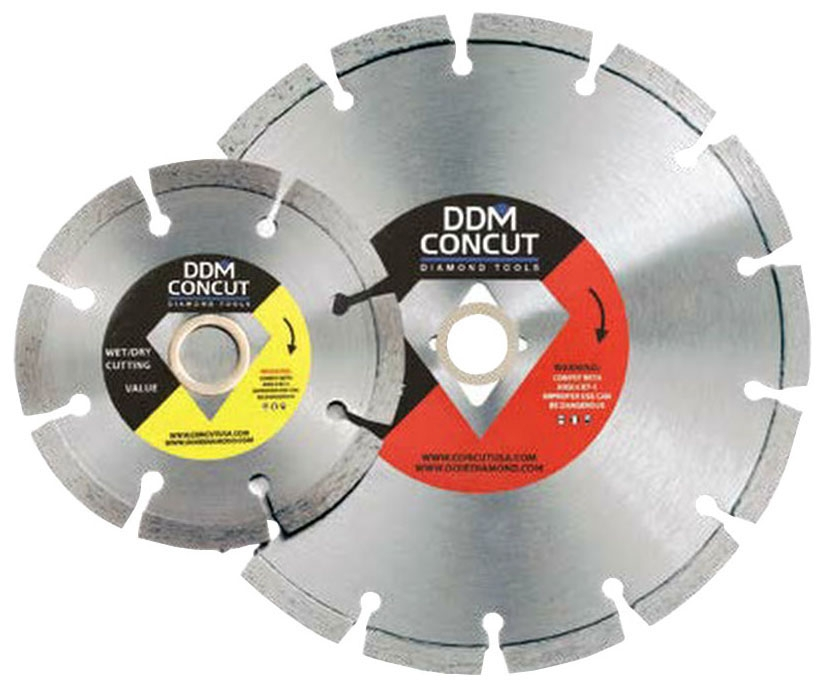 Diamond Blade-5 in X .080 Dry Cut Gen - Masonry