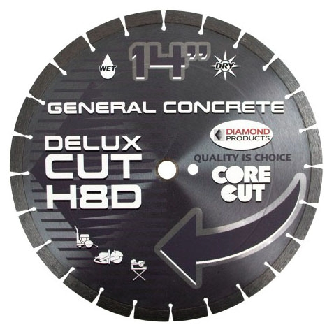 Diamond Blade-14in x.125 GP Concrete - General Purpose