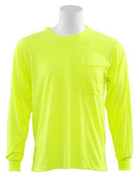 Long Sleeve T-Shirt Lime - Safety Products