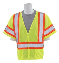Safety Vest-ERB Class 3 DOT Lime - Safety Products