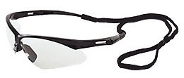 Safety Glasses-Clear Lens/Black Frame - Head, Eye & Face