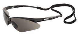 Safety Glasses-Grey Lens/Black Frame - Head, Eye & Face