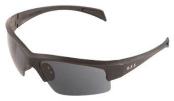 Safety Glasses-Contra Black Aussie Gray - Head, Eye & Face