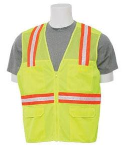 Safety Vest- ERB Sirveyor Lime X-Large - Clothing