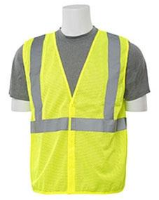 Safety Vest-Large Class 2 Economy Mesh - Clothing