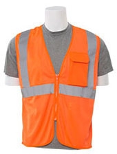 Safety Vest Class 2 Hi-Viz Orange - Clothing