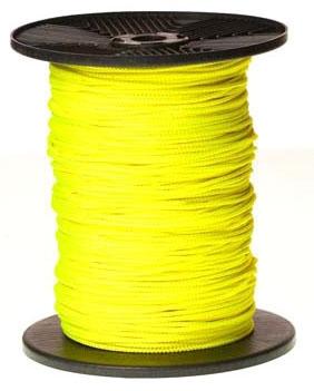 1/8in Yellow Kevlar String Line - Slip Forms