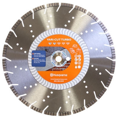 Diamond Blade-14in x .125 Vari-Cut Turbo - Diamond Products