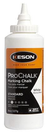 Marking Chalk-White 8oz Pro Chalk (Keson - Marking Supplies