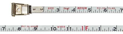 Measuring Tape-200 ft Nylon/Steel Blade - Measuring Tools