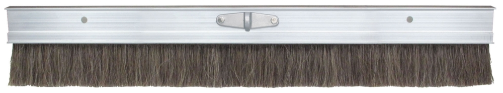 Broom-48in Horsehair Poly Blend Aluminum - Texture Brooms