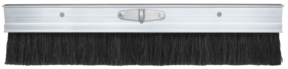 Broom-48in Black Poly w/Aluminum Frame - Texture Brooms
