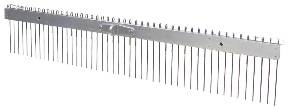 Tine Broom-48in w/ 1/2 in Spacing - Texture Brooms