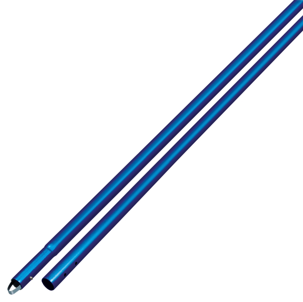 Bull Float Handle- Blue 1-3/4in x 6 ft - Handles, Adaptors & Brackets