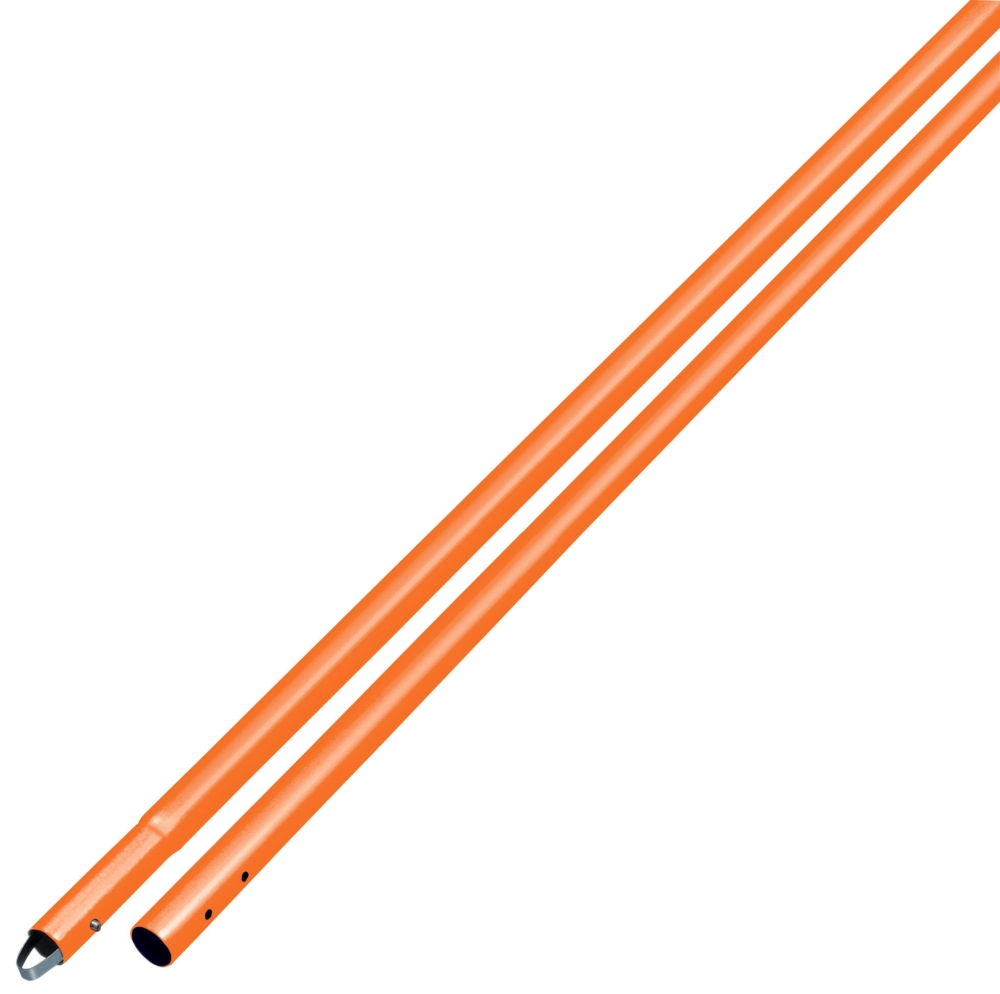 Bull Float Handle- Orange 1-3/4in x 6ft - Handles, Adaptors & Brackets