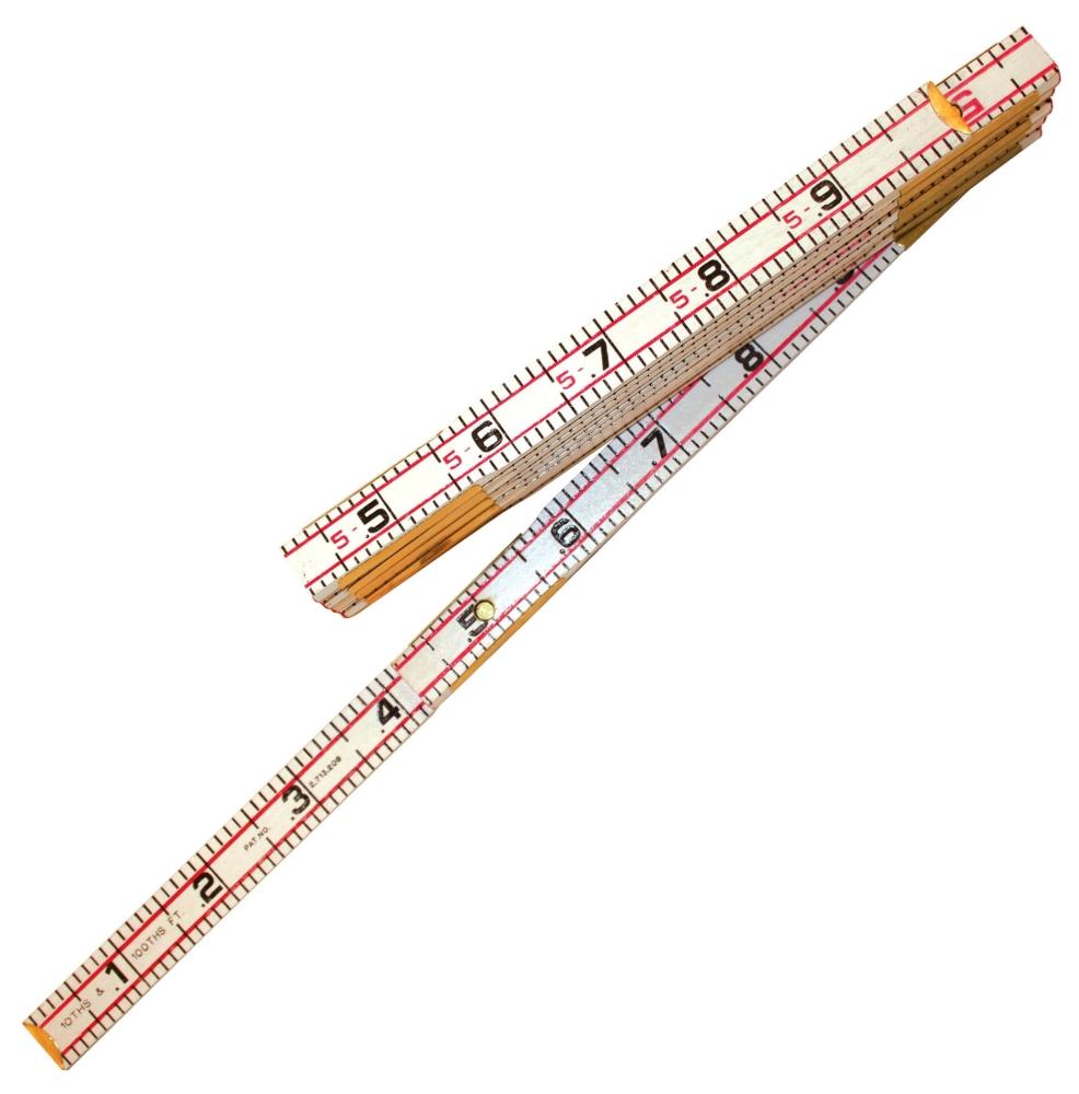 Red End Engineer Rule 6ft - Measuring Tools