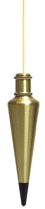 Plumb Bob-24oz Brass (Sands) - Measuring Tools