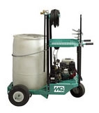 Spray Cart w/ Compresser and Pump - Power Sprayers