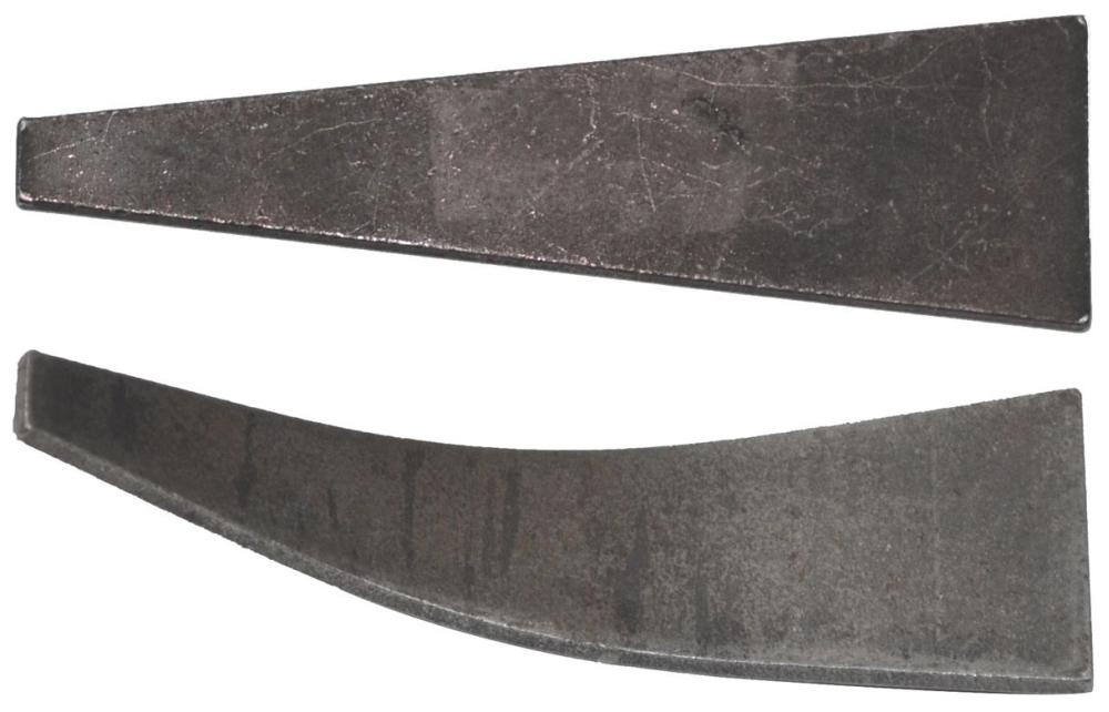 Aluminum Form Flat Wedge 250/Bucket - Aluminum Forms