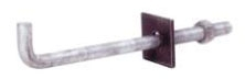 Anchor Bolt-1/2in x 8in Galvanized L - Mechanical Anchors